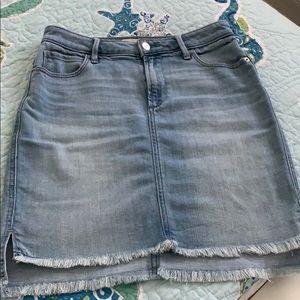 Abercrombie & Fitch denim skirt.  Size 27